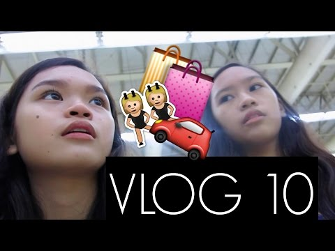 VLOG 10: SM WITH MY SISTER (TAGALOG)