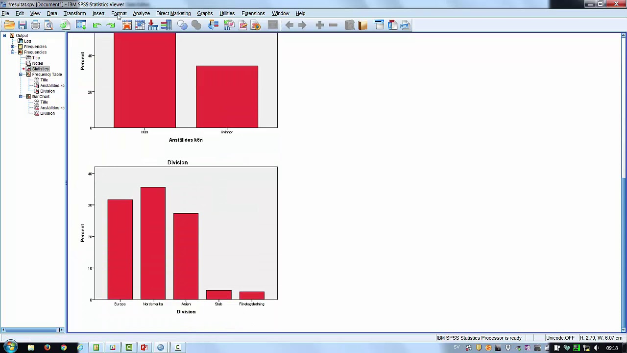 SPSS tisdagstips 22 aug deskriptiv statistik