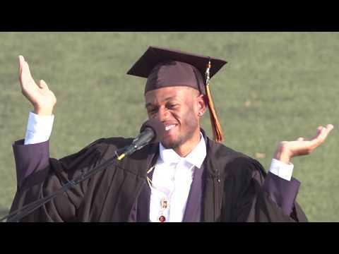 Demetrius Harmon's Commencement Speech