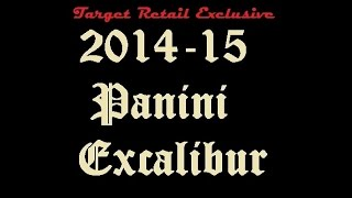 2014 -15 Panini Excalibur Target Retail Exclusive 4 Pack Break! Hits! Hits! Hits!