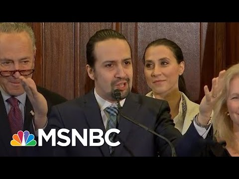 Lin-Manuel Miranda Calls On Congress For Puerto Rico Support   MSNBC