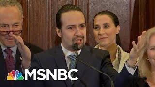 Lin-Manuel Miranda Calls On Congress For Puerto Rico Support | MSNBC
