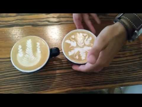 World Latte Art Battle (WLAB) 2016 - Michalis Karagiannis