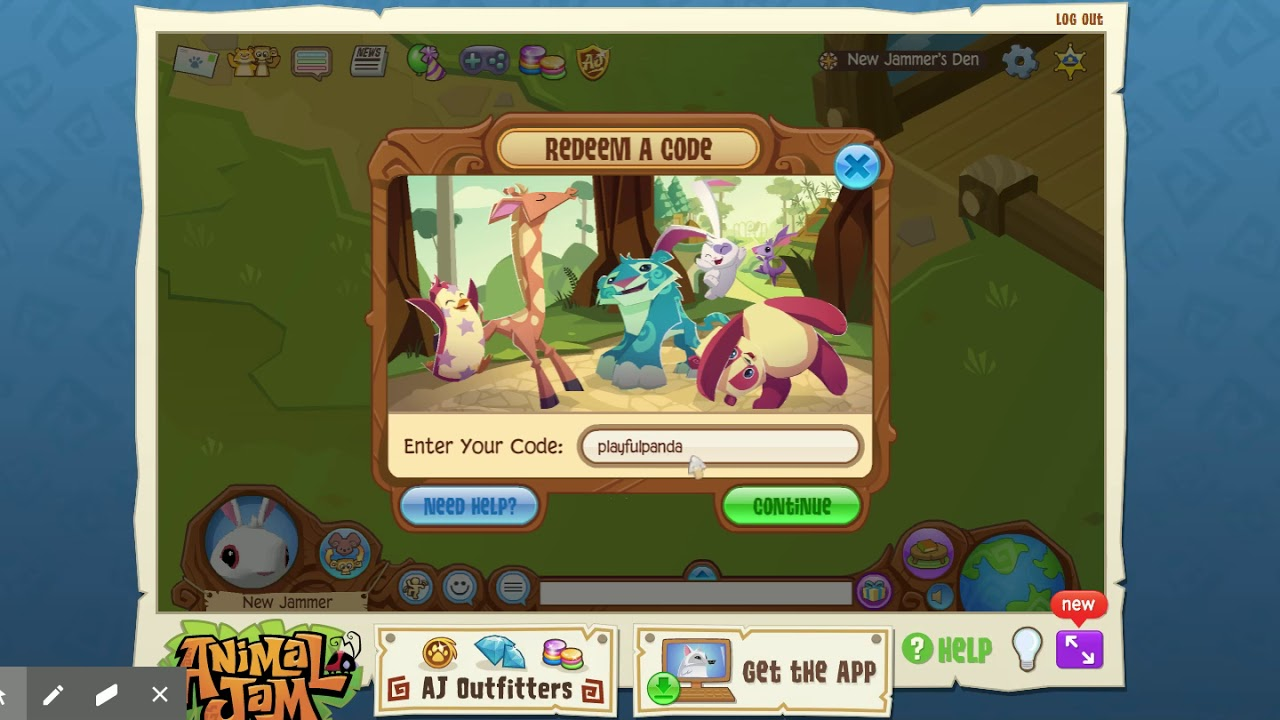 Animal Jam 2020 codes! Gems and one other! - YouTube