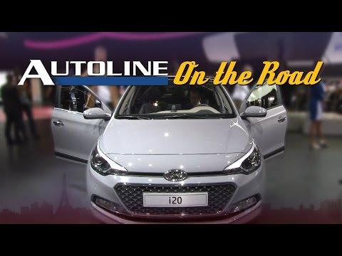 Hyundai i20 Aims for C-segment Features in a B-segment car - Paris Motor Show 2014