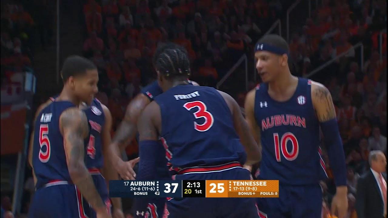 Auburn Men's Basketball vs Tennessee ...
