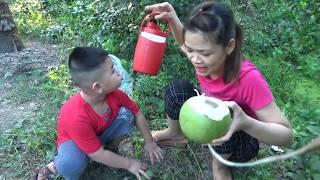 Mẹ Kế Tốt Bụng Tập 8 - Lần Đầu Tiên Uống Nước Cam Dừa Tại Vườn Giải Khát Mùa Hè [ FPL CHANNEL ]
