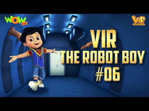 Vir: The Robot Boy #6 - 3D ACTION compilation for kids - As seen on Hungama TV