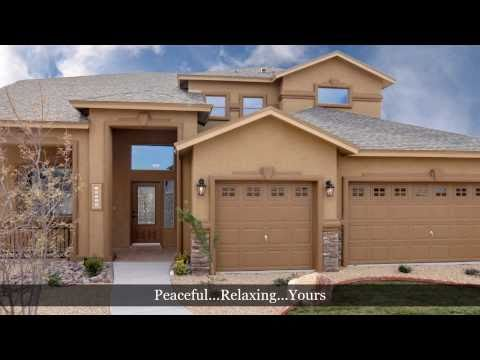 5 Bedroom Home, El Paso Tx - Santiago Model by Carefree Homes - El Paso Tx  New Home Builder