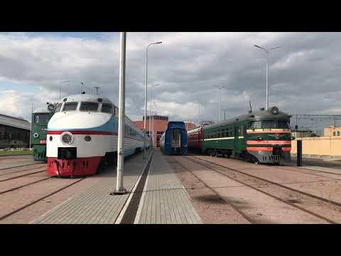 Прогулка по Музею Железных Дорог России в городе Санкт Петербург