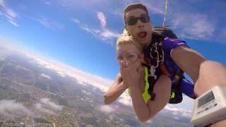 Anna Ornella - Skydiving 2016 Florida