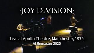 Joy Division - Colony (Live at Apollo Theatre, Manchester, 1979), Ai Remaster 2020