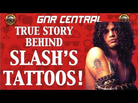Guns N' Roses  The True Story Behind Slash's Tattoos