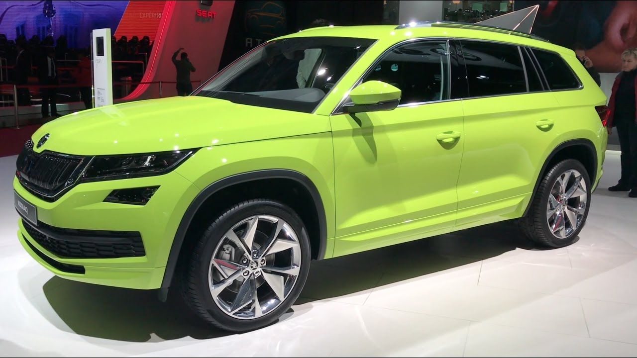 skoda kodiaq 4x4 2017 in detail review walkaround interior exterior youtube. Black Bedroom Furniture Sets. Home Design Ideas