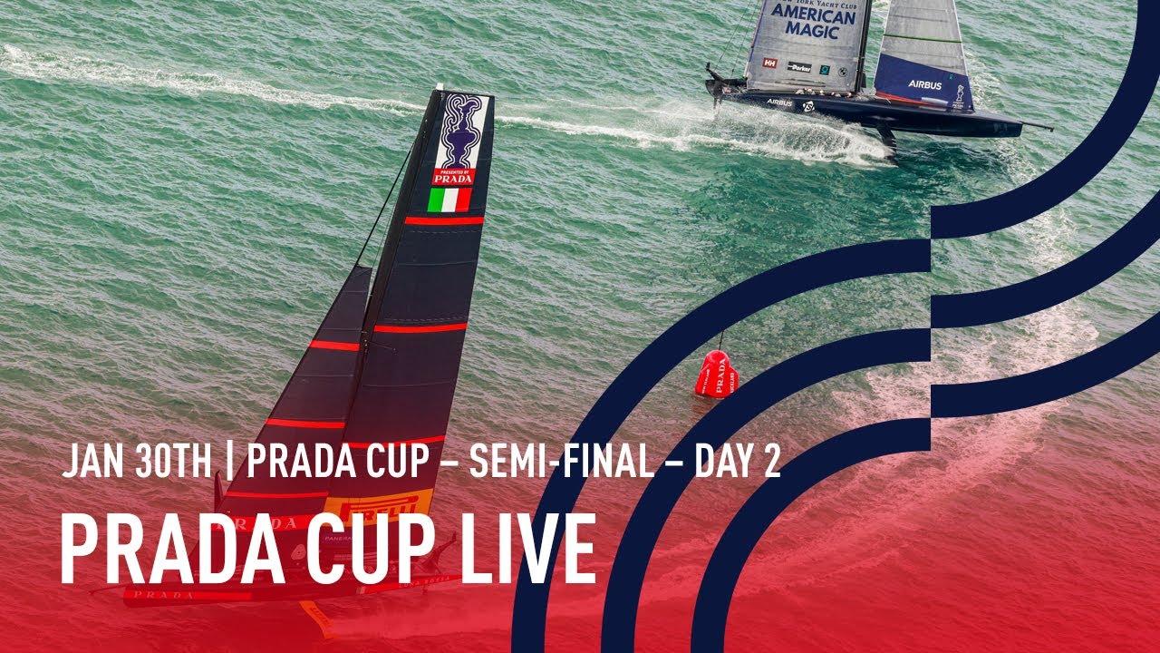 Full Race Replay | Semi-Finals Day 2 | PRADA Cup LIVE