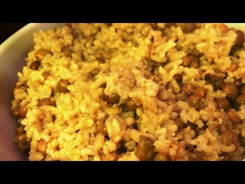 Easy Coconut Rice And Black Eyed Peas Recipe