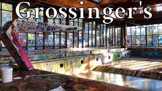 Exploring the Best Part of Grossinger's   LAST URBEX FOOTAGE Before Demolition