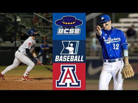 UC Santa Barbara vs #5 Arizona (Game 6) | Tucson Regional Final | 2021 College Baseball Highlights