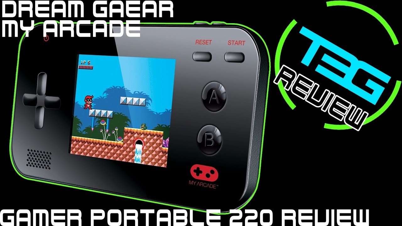 Dreamgear My Arcade Gamer V Portable 220 Review Great