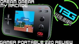 dreamGear My Arcade - Gamer V Portable 220 Review - GREAT GIFT IDEA!
