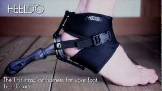 Repeat youtube video HEELDO - The first strap-on harness for your foot