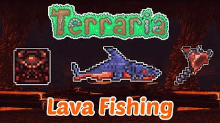 Terraria NEW Lava Fisнing Guide and Item Showcase!