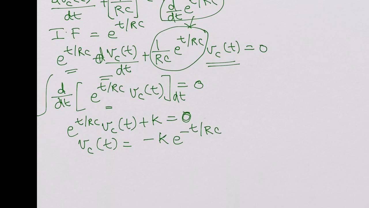 rc transient circuit
