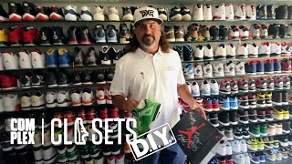 Golfer Pat Perez Shows Off One Of The Most Insane Jordan Collections on Complex Closets