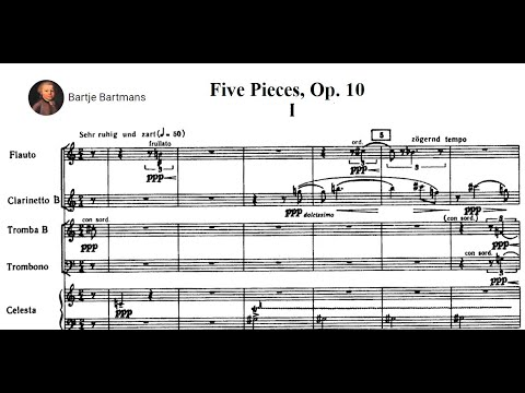 Anton Webern - Five Pieces for Orchestra Op. 10 (1913)