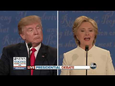3rd Presidential Debate Highlights   Trump Tax Returns & Clinton Foundation