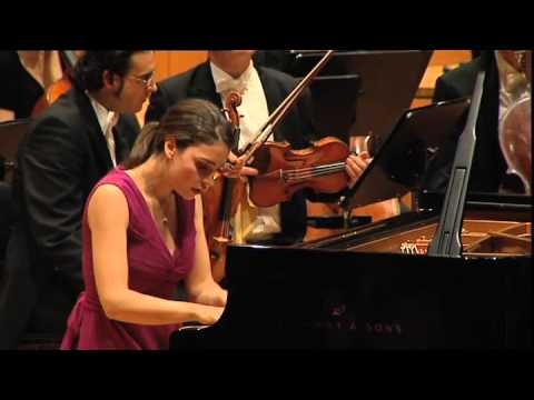 Olga Scheps plays Tchaikowsky Piano Concerto No. 1 in Munich / Gasteig