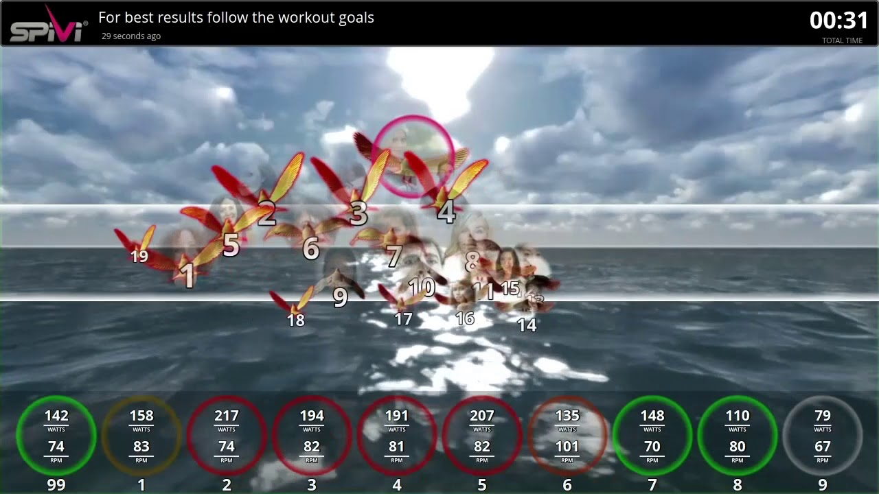 Spivi Studio Make Your Stationary Bikes Move Forward | Spivi