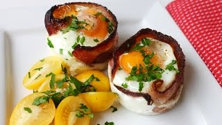 Easy recipe: How to make egg and bacon cups in a muffin tin