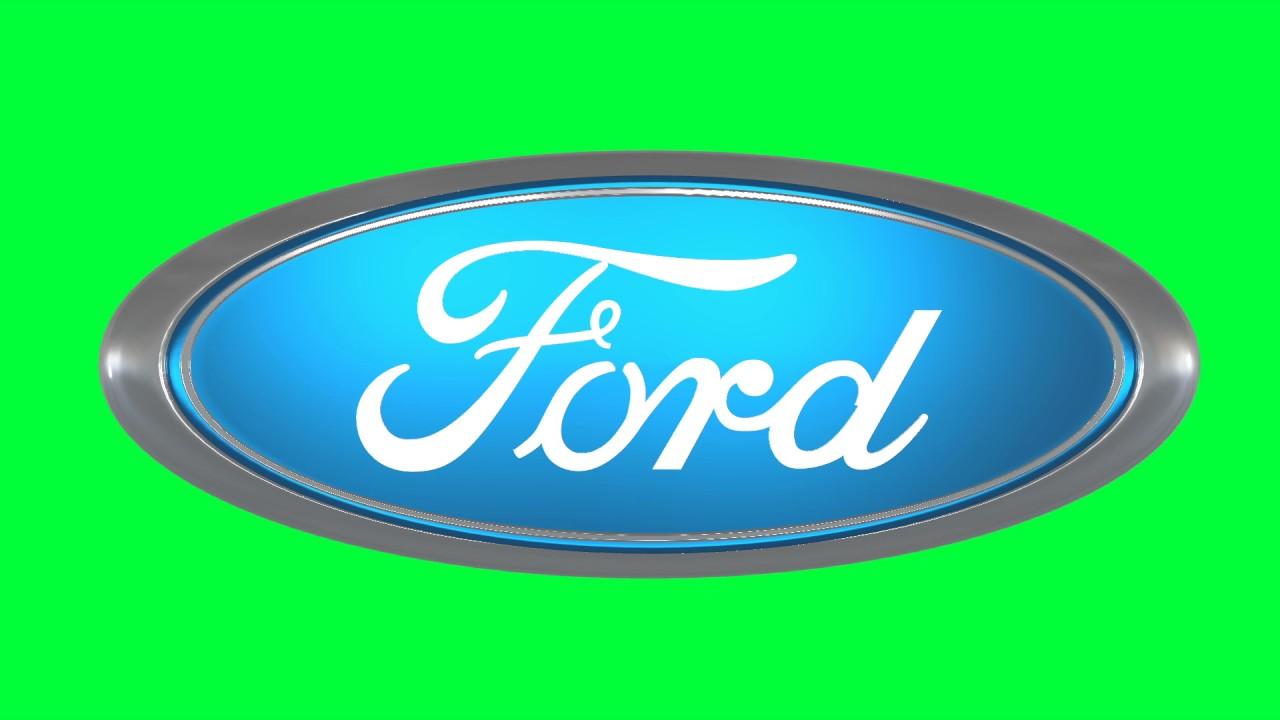 ford green screen logo loop chroma animation youtube