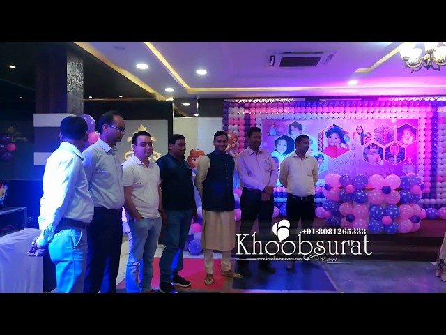 Akriti birthday party #khoobsuratevents