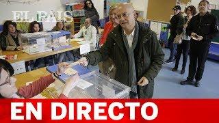 Sigue en directo el ANUNCIO de los PRIMEROS DATOS DE PARTICIPACIÓN de las ELECCIONES