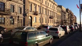 Сармат шагает по Петербургу (1 эпизод)