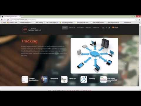 Demo for ITAM (Online IT Assets Management ) IT Administrator