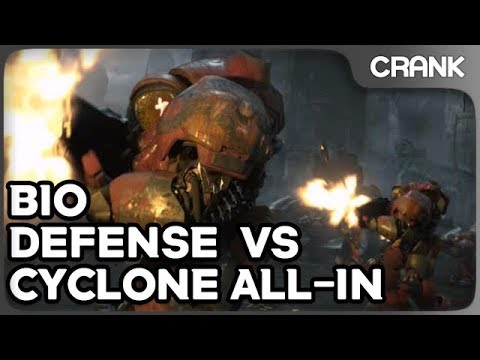 Bio Defense vs Cyclone All-In - Crank's Variety StarCraft 2