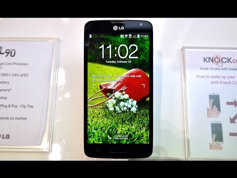 LG L90, primeras impresiones MWC 2014
