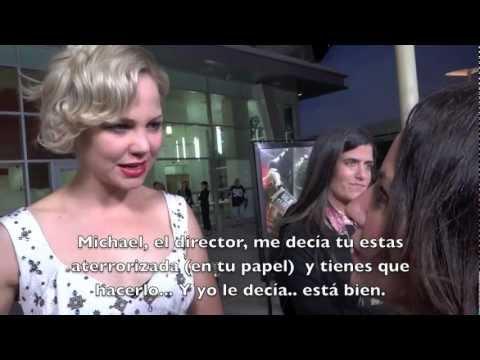 "Premiere ""Silent Hill: Revelation 3D"" / Adelaide Clemens & Kit Harington (subtítulos español)"
