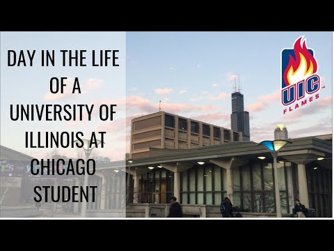 Day In The Life Of A University Of Illinois At Chicago Student- Spring 2019