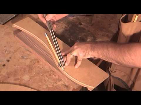 Make A Curved Cutting Board Youtube