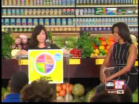 First Lady visits Tampa grocery store