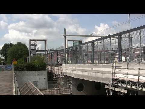 Metro Hoekselijn Station Nieuwland Schiedam 2017 08 21