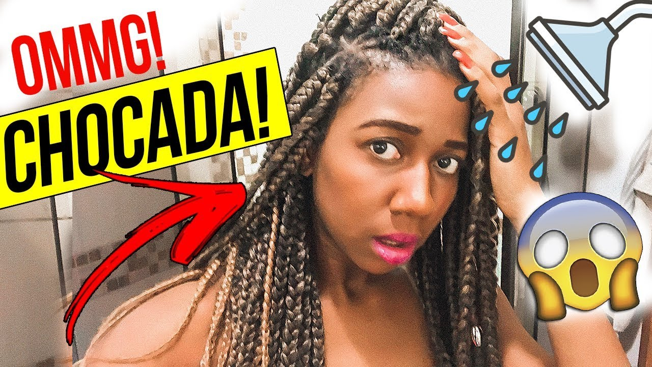 LAVEI AS BOX BRAIDS E OLHA COMO FICOU! - Most Popular Videos