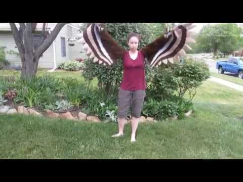 how to make wooden bird with moving wings