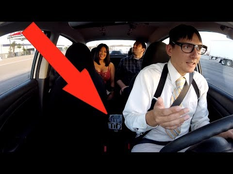 NERDY UBER DRIVER RAPS FOR A TIP