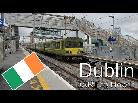 Dublin - With The DART From Grand Canal Dock To Howth
