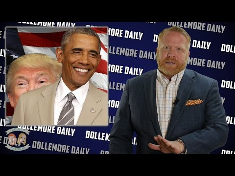 Comparing First 100 Days - Donald Trump vs Barack Obama - #DollemoreDaily
